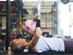Kettlebell presses are great for upper body women