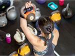 KettleFit Fitzroy North Gym Fitness Kettlebells are a great women