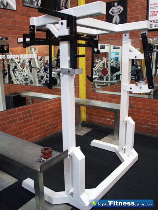 Doherty's Gym Brunswick Only a selective few gyms have a monolift.