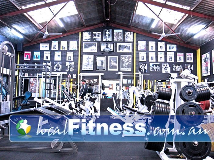 Doherty's Gym Brunswick A warehouse atmosphere filled with hard work and passion.<br /><br /><br />