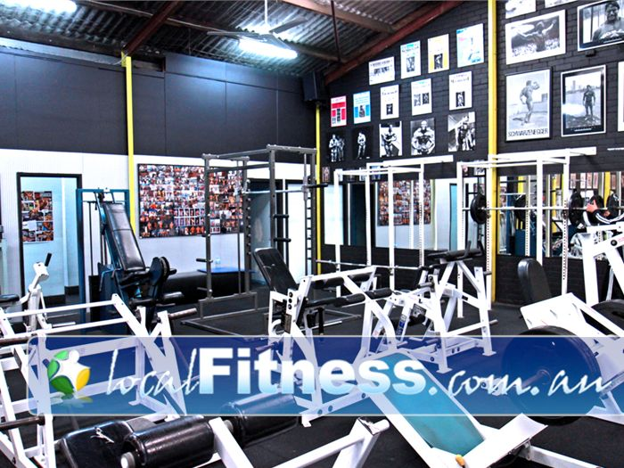 Doherty's Gym Brunswick Easy to use pin-loaded machines and heavy duty squat racks.<br /><br />