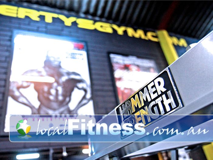 Doherty's Gym Moreland Gym Fitness Highest quality Hammer Strength