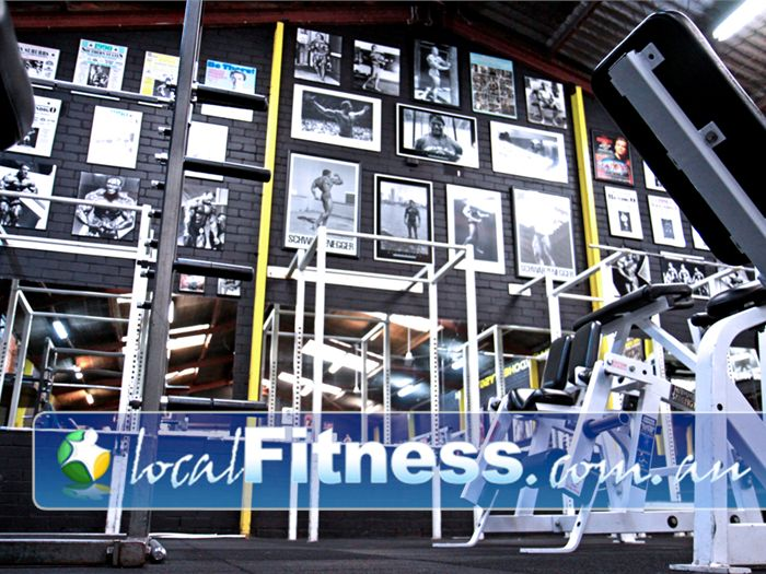 Doherty's Gym Near Brunswick East Get inspired by the Arnold Schwarzenegger Wall of Fame.