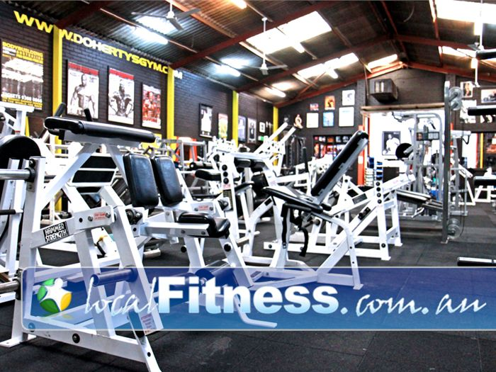 Doherty's Gym Near Coburg A dedicated leg room in our Brunswick gym.<br /><br /><br />