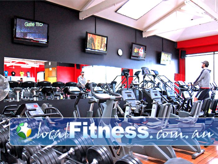 Doherty's Gym Brunswick Tune into our Plasma screen entertainment while you train.