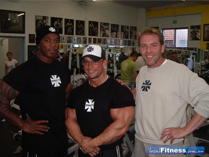 Celebrity Guests Brunswick Flex Wheeler Lee Priest P2452i11 on Priest Training