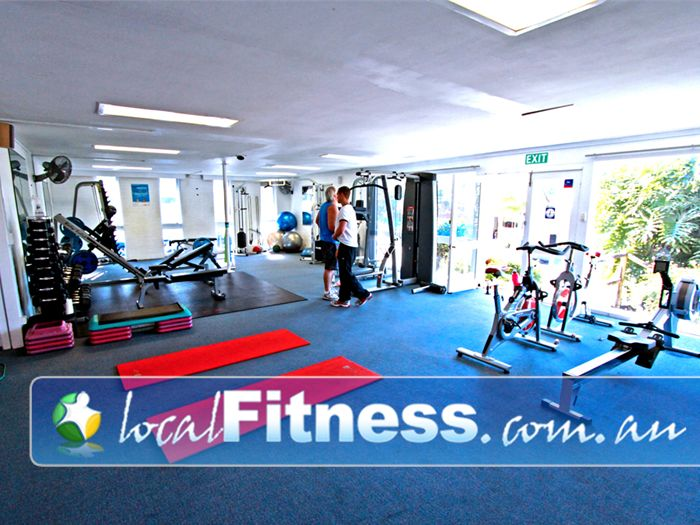 Body Language Personal Training Brookvale The spacious Manly personal training studio.