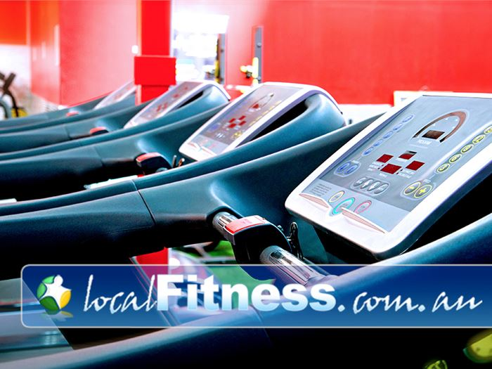 Ultimate You Fitness Near Docklands Our Southbank gym includes a state of the art cardio area.
