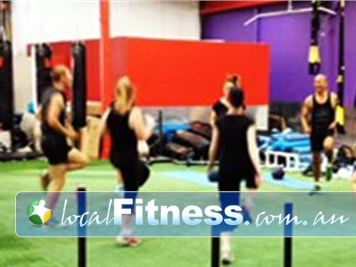 Ultimate You Fitness Near Docklands Semi-private Southbank personal training for families and groups.