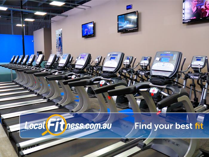 Genesis Fitness Clubs Gym Byford    Tune into your favourite shows while you train