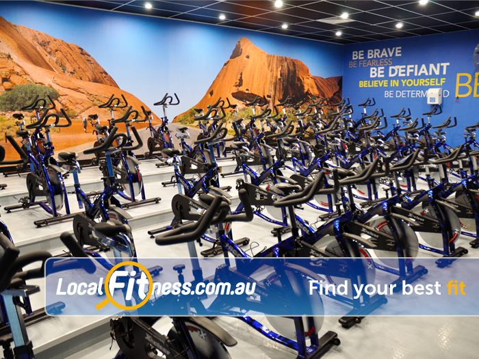 Genesis Fitness Clubs Gym Byford    The state of the art Genesis Kelmscott cycle