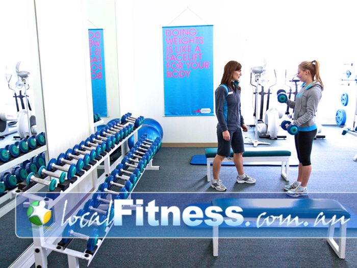 Fernwood Fitness Gym Ballarat  | Our Ballarat women's gym strength training programs allow