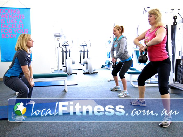 Fernwood Fitness Free-Weights Area Ballarat | At Our