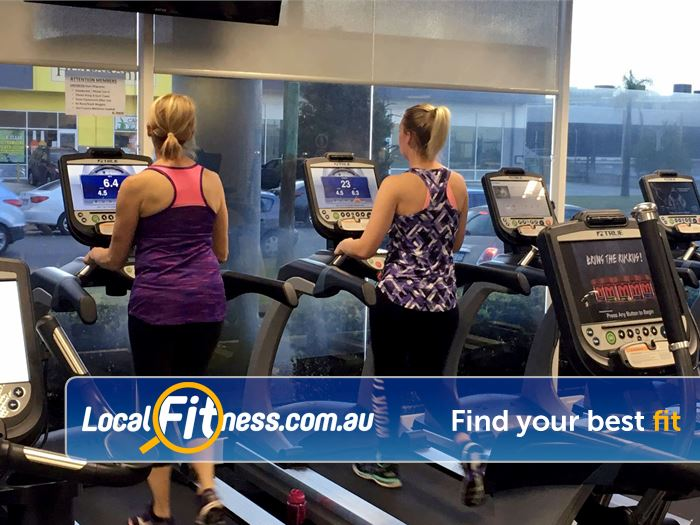 Genesis Fitness Clubs Belmont Our Belmont personal trainers can take you through a cardio training program.