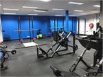 Olympic Lifting Area With 6 Platforms.