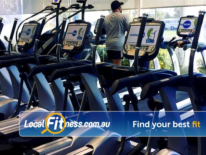 Genesis Fitness Clubs Belmont Cross trainers, Steppers, treadmills, rowers and more.