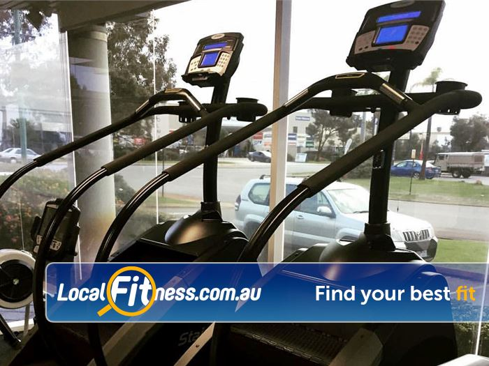 Genesis Fitness Clubs Belmont Great views from our cardio area.