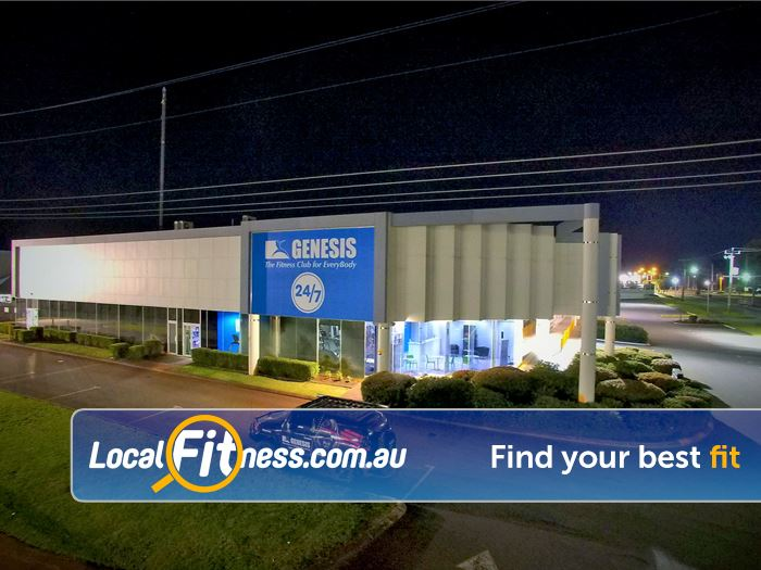 Genesis Fitness Clubs Belmont Our Genesis Belmont gym is open 24/7.
