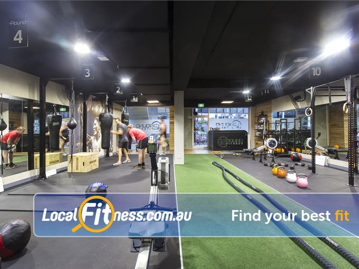 12 Round Fitness Near Richmond North Our Richmond gym is fully equipped for functional training and boxing.