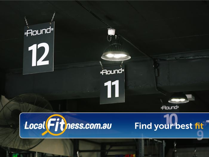 12 Round Fitness Near South Yarra In and out in 12 3 minute rounds to give you a great workout within 45 minutes.