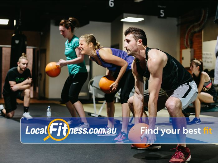12 Round Fitness Near South Yarra A new dynamic program every session keeps things fast, fun and never boring.