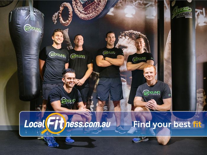 12 Round Fitness Richmond Our 12 Round Richmond gym team - ready to show you a workout unlike anything before.