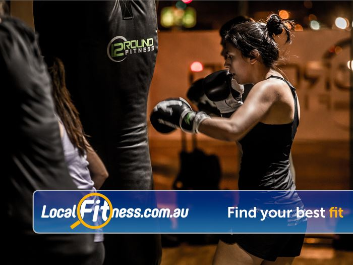 12 Round Fitness Near South Yarra Combining 3-minute boxing rounds to really give you a workout.
