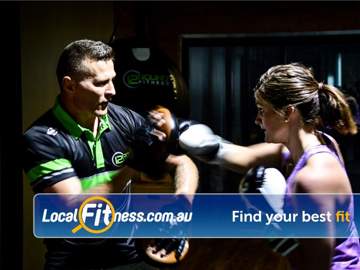 12 Round Fitness Near Richmond North It is like training with a Richmond boxing coach.