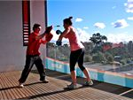 Genesis Fitness Clubs Richmond Gym Fitness Enjoy the outdoor balcony at