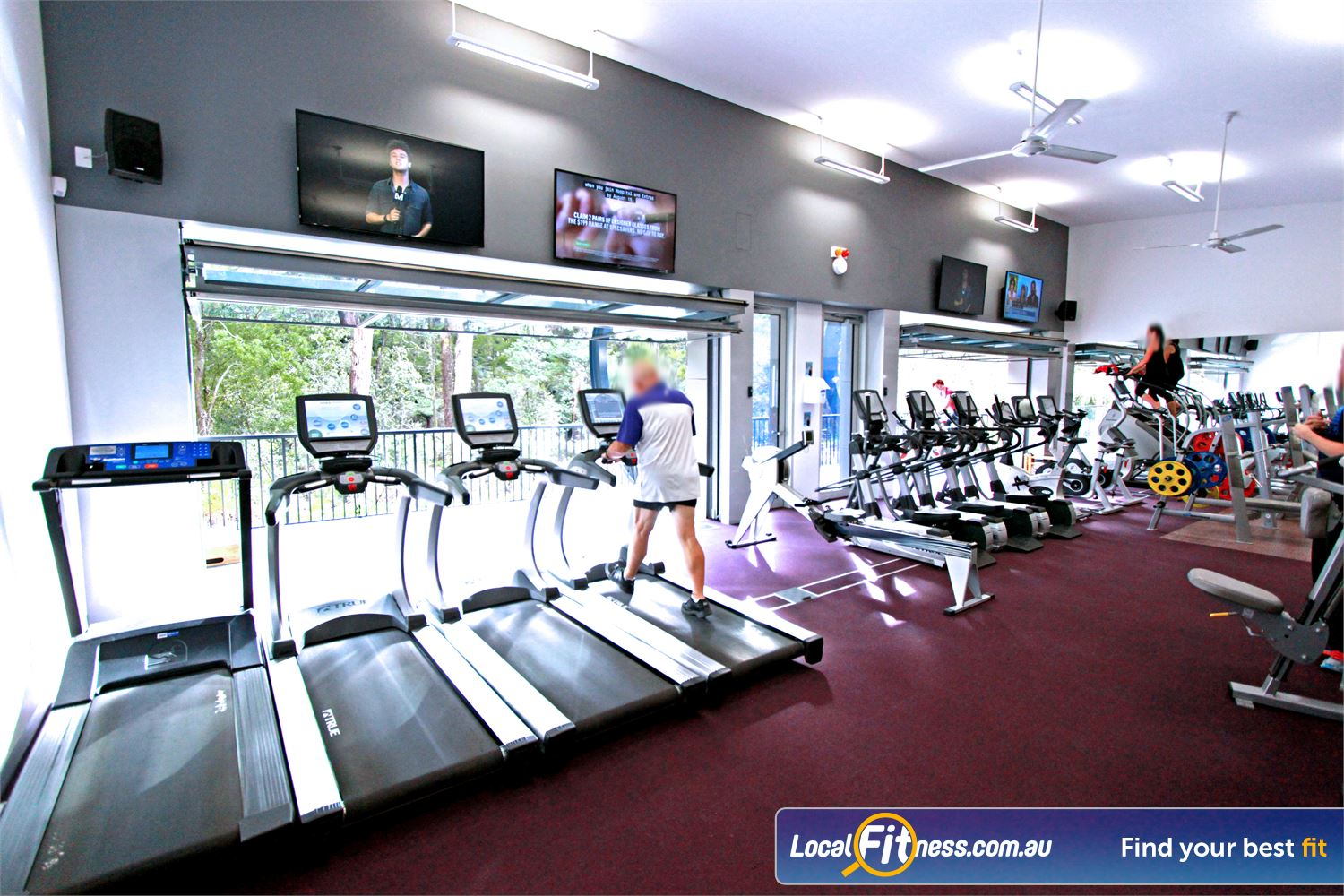 Monbulk Aquatic Centre Monbulk Our Monbulk gym provides open air cardio training.