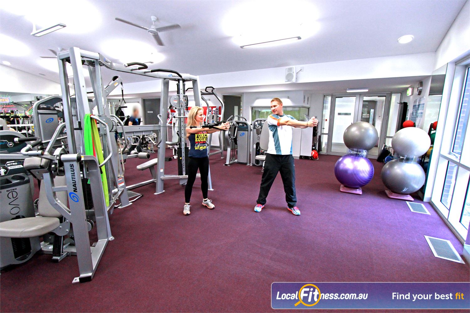 Monbulk Aquatic Centre Near Silvan Monbulk personal trainers are qualified and will monitor your form.