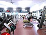The comprehensive free-weights area in our Monbulk gym.
