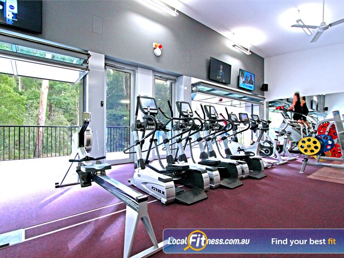 Monbulk Aquatic Centre Silvan Gym Fitness Full range of cardio inc.