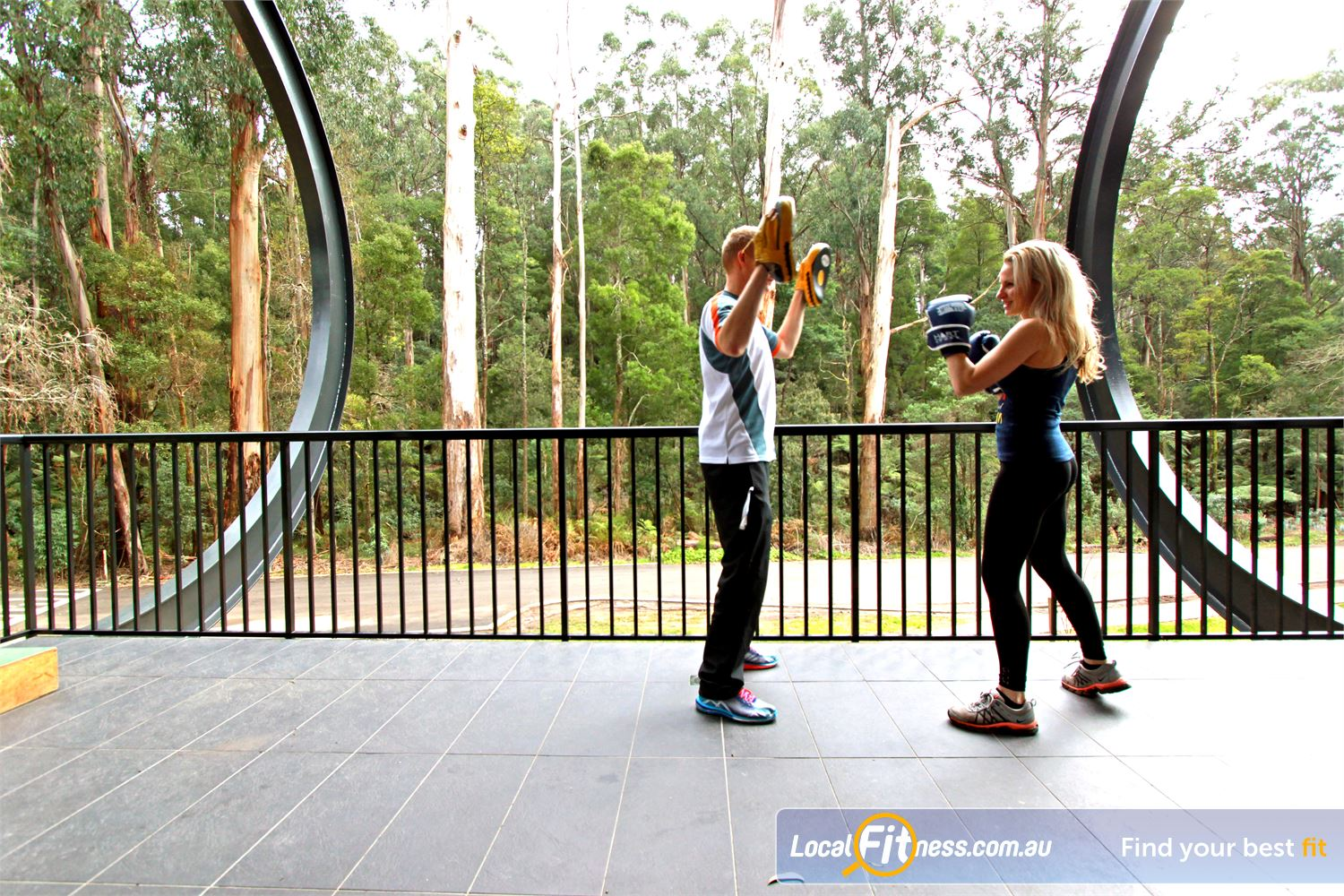Monbulk Aquatic Centre Near Mount Evelyn Our Monbulk gym provides scenic views of the forest.