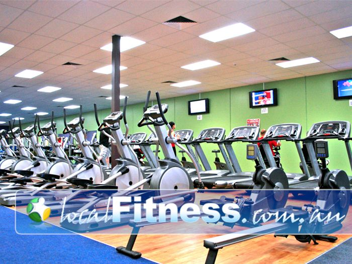 Genesis Fitness Clubs Near Sandhurst Multiple machines means you don't have to wait!