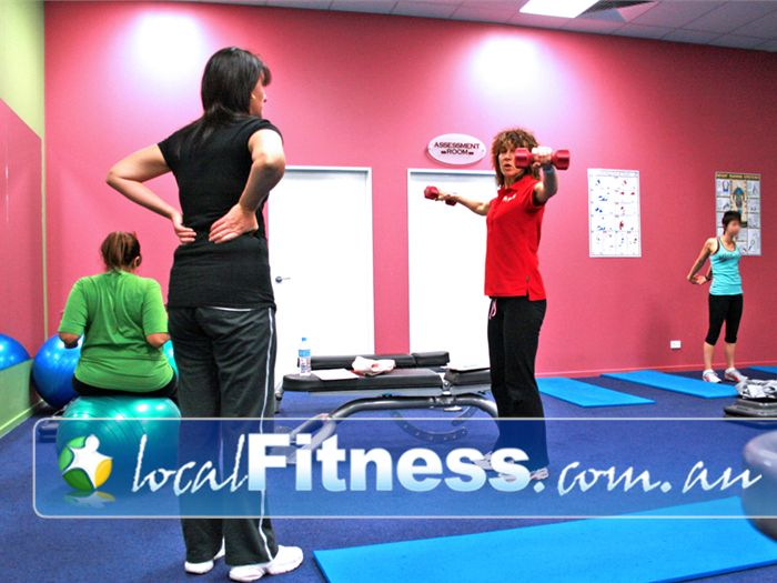 Genesis Fitness Clubs Near Five Ways The large private ladies gym in Cranbourne.