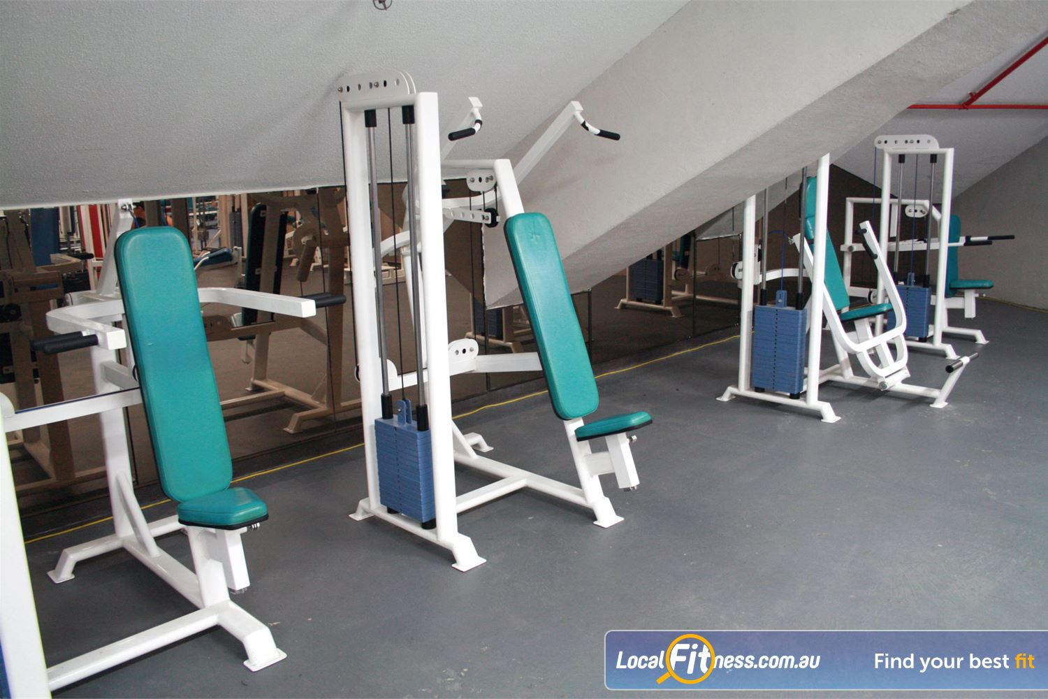 Docklands Gym & Squash Centre World Trade Centre Our Docklands gym includes state of the art pin-loading machines.