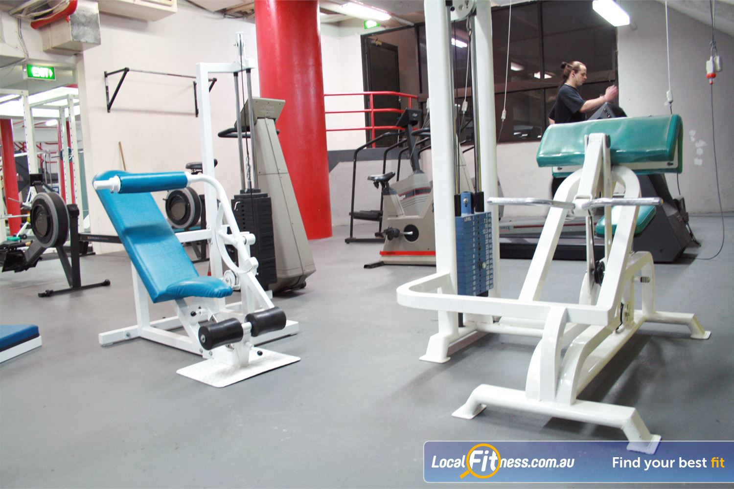 Docklands Gym & Squash Centre Near Docklands You will be spoilt for choice at our fully equipped gym.