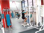 Docklands Gym & Squash Centre World Trade Centre Gym  The pin-loading calf raise machines