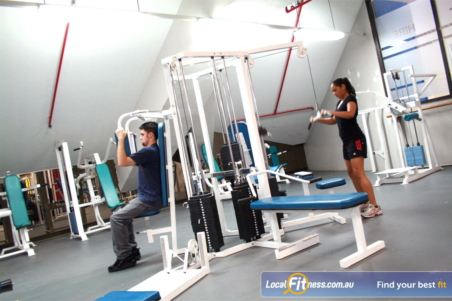 Docklands Gym & Squash Centre Near Southbank Our Docklands gym cater for all ages and abilities.