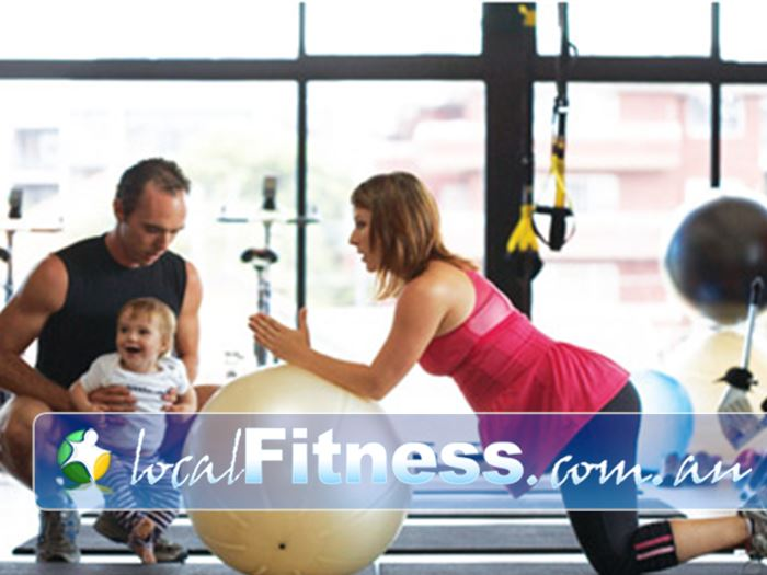 Damien Kelly Fitness Studio Bondi Junction We can help you regain your pre-baby body.