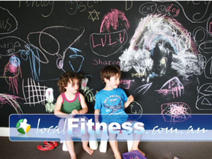 Damien Kelly Fitness Studio Bondi Junction Your kids will love the abundance of activities in our Bondi Junction creche.
