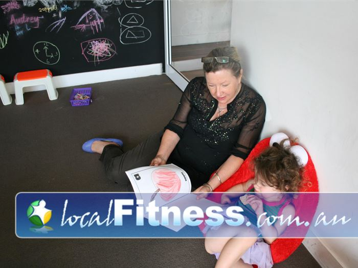 Damien Kelly Fitness Studio Bondi Junction We make sure your kids are cared for while you train.
