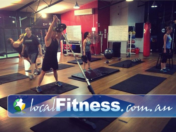 Damien Kelly Fitness Studio Near Queens Park Group training is more fun and can raise your intensity by 25%.<br />