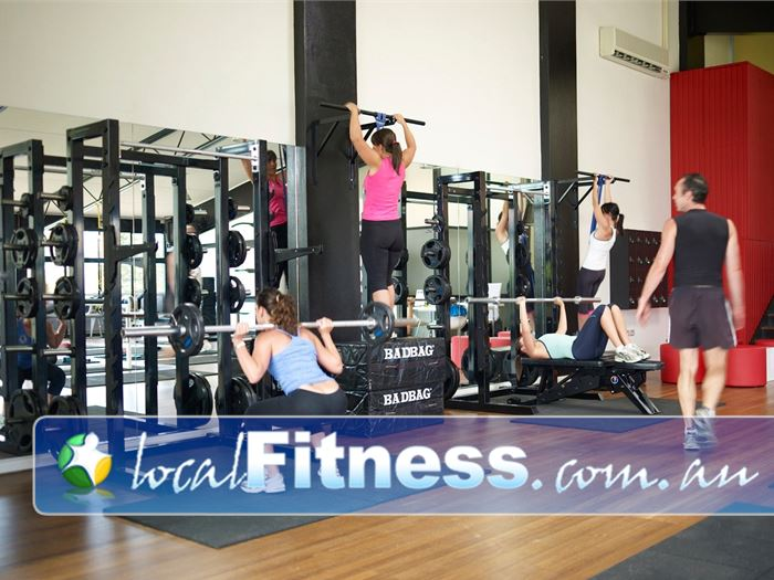 Damien Kelly Fitness Studio Near Bellevue Hill All our equipment allows natural whole body movement.