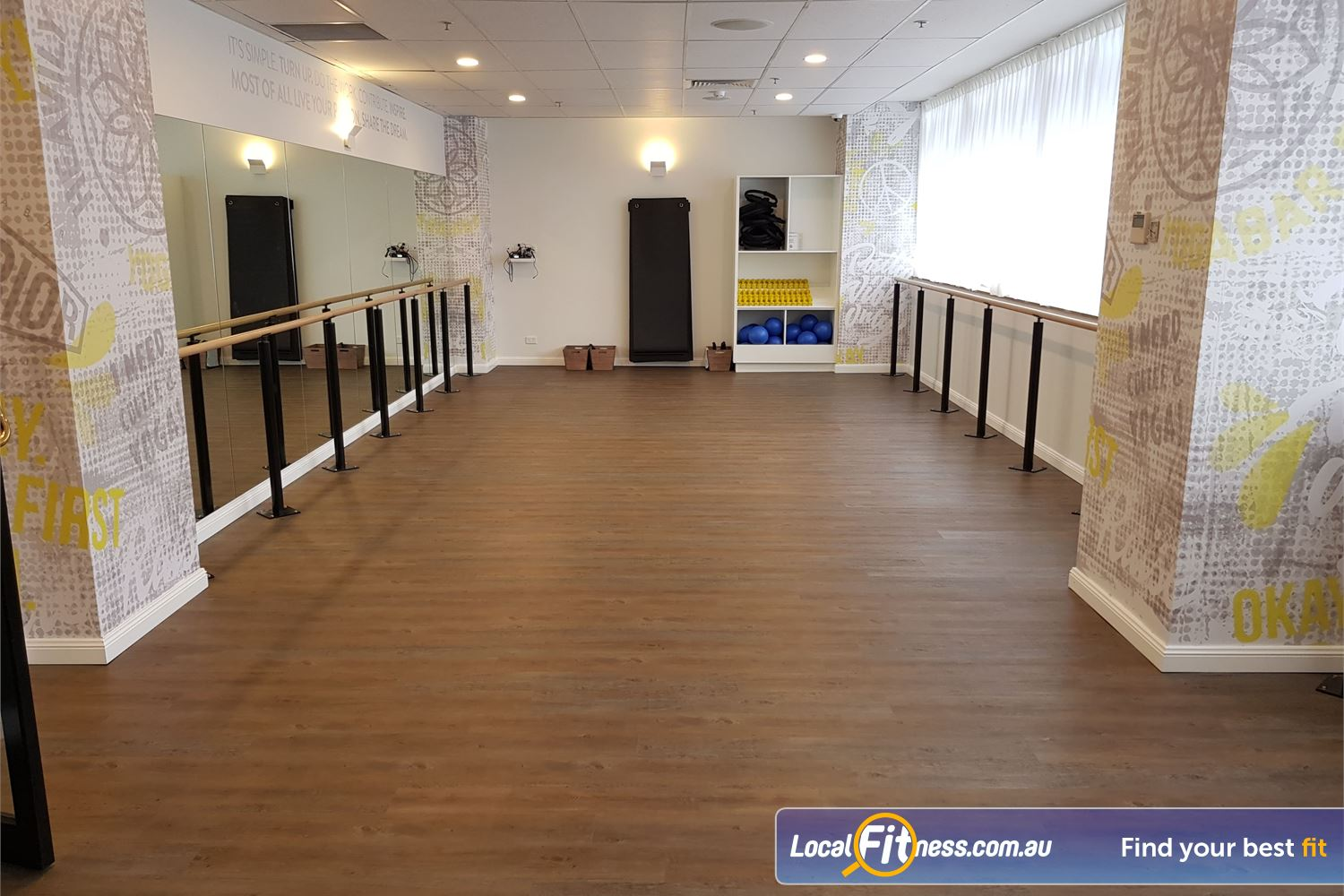 Fit n Fast Near Enfield The relaxing NSW Burwood Yoga studio.