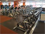 Fit n Fast Burwood Gym Fitness Row and rows of cardio machines