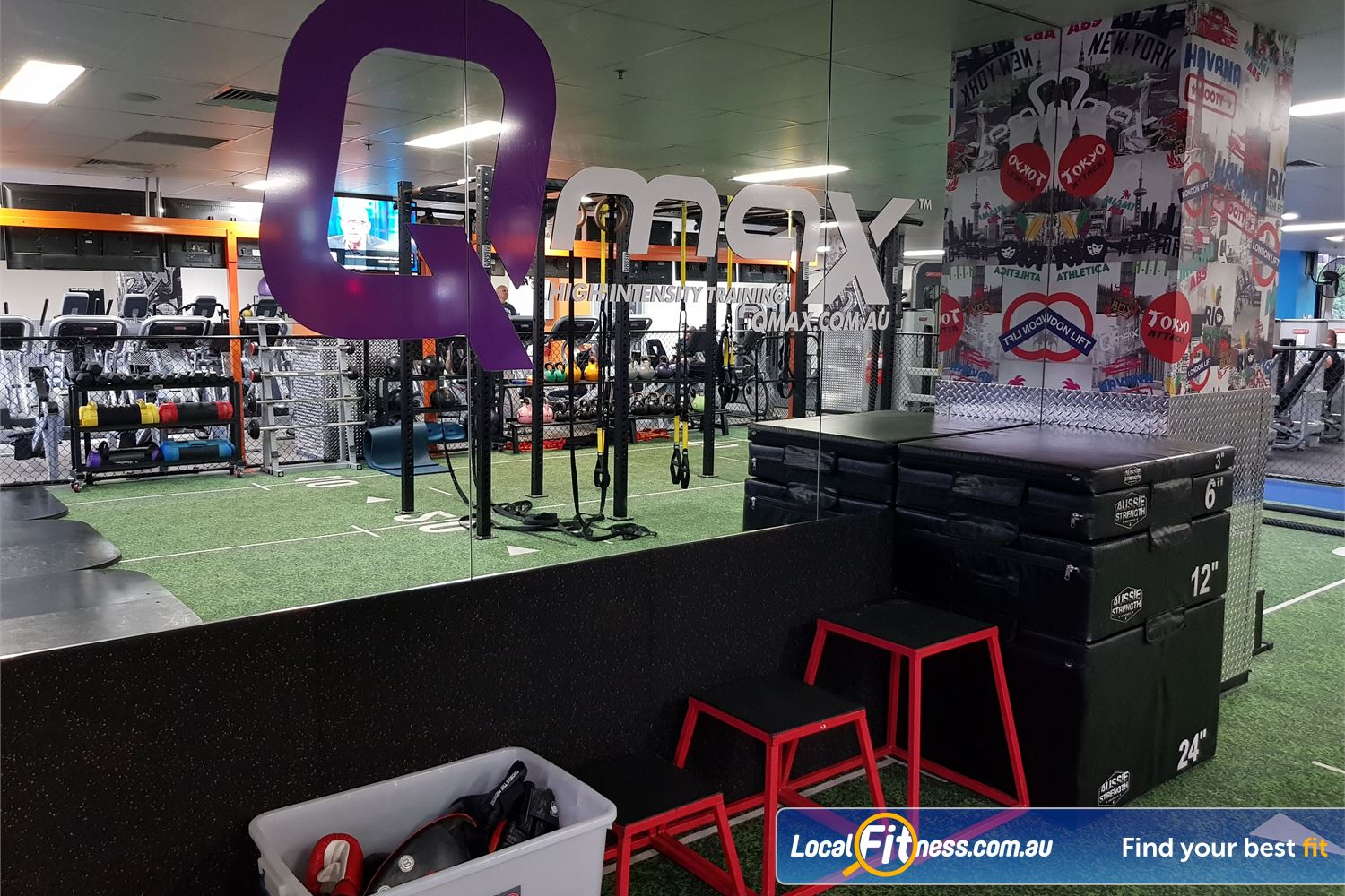 Fit n Fast Near Strathfield Our dedicated NSW Burwood HIIT gym provides QMAX functional training classes.