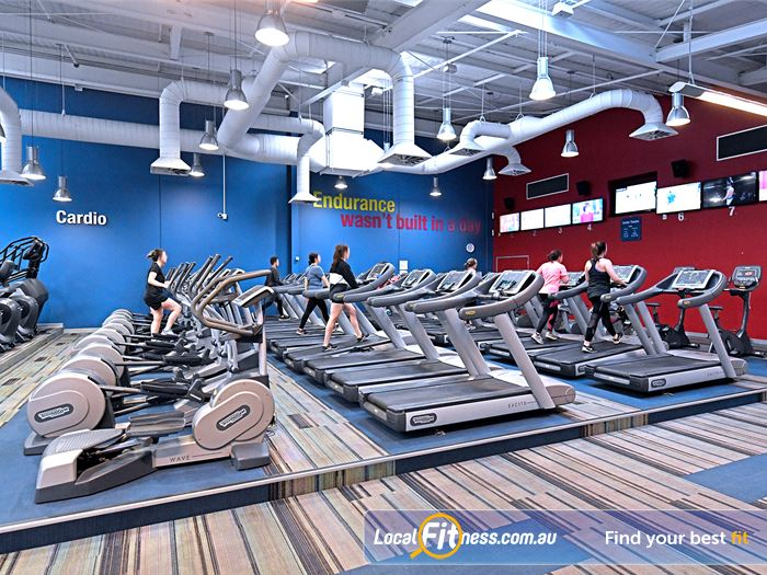 Goodlife Health Clubs Essendon Gym Fitness Choose your cardio weapon: