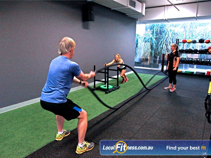 South Pacific Health Clubs Gym Dingley Village  | Our Mentone HIIT gym area includes a indoor